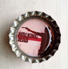 Walking Dead Bottlecap Magnet Walking Dead, Fathers Day, Best Gifts, Geek Stuff, Photo And Video, Awesome, Shopping, Instagram, Geek Things