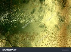 Green Golden Abstract Background , With Painted Grunge Background Texture For Design . Stock Photo 327298325 : Shutterstock