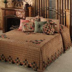 Mesa Camel Grande Bedspread Bedding