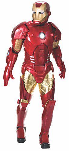 Rubie S Offizielles Korstum Marvel Supreme Edition Iron Man Kostum Sammlerstuck Erwachsenen Kostumstandardgross Ironman Costume Mens Halloween Costumes Iron Man