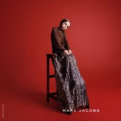 Betty Lowe for Marc Jacobs fall-winter 2015 advertising campaign