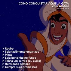 """Personagens da Disney ensinam como conquistar """"aquele boy"""" Disney Princes, Disney Films, Disney Pixar, Funny Disney Memes, Funny Memes, Funny Princess, Disney Word, Memes Status, Walt Disney Company"""