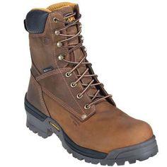 Carolina Boots Men's Waterproof Composite Toe CA8525 Logger Work Boots