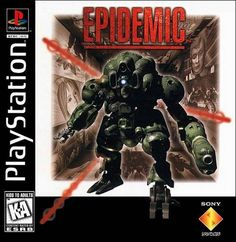 Epidemic for by SCEA the little known sequel to Kileak The DNA Imperative Gaming Wallpapers Hd, Robot Costumes, Game Of The Day, Playstation Games, Ps4, Classic Video Games, All Games, Sony, Videogames