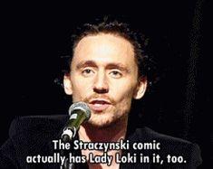"c'est tangerine — ""Loki has gone through so many incarnations in the..."