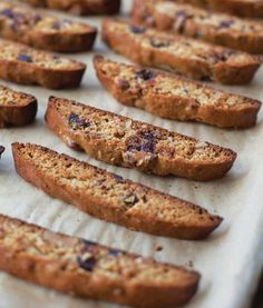 Honeyed Biscotti with Almonds and Dates
