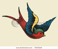 In classical Chinese paintings, the swallow represented happiness and the arrival of spring, and was often depicted as part of the flowering peach branch. Additional portrayals show the bird as: daring, risk-seeking, and a symbol of change for good in the future.