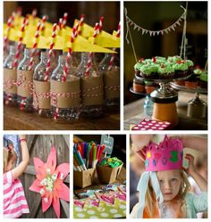 DIY kids parties are the best!