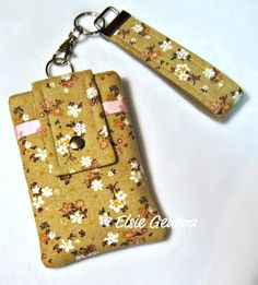Japanese Natural and Pink Floral Phone Case with by elsiegeneva, $30.00
