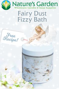 Free Fairy Dust Fizzy Bath Recipe by Natures Garden