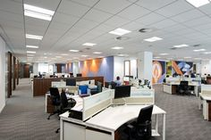 Интерьер штаб–квартиры Enterprise Rent-A-Car