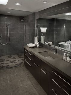Paradise Valley Resident - contemporary - bathroom - other metro - Fannin Interiors