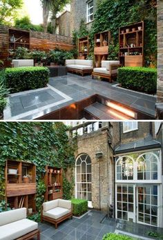 London Yard: 7 Grassless Gardens For Modern Urban Homes : [ Filed Under  Patios U0026 Decks U0026 In The Interiors Category ] With Large Ame.