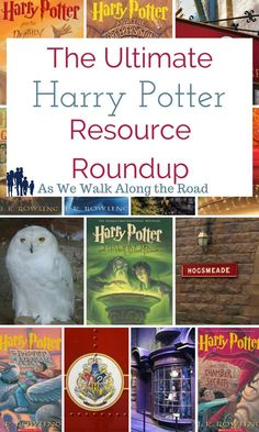 Do you have Harry Potter fans in the house? Don't miss the huge resource list of educational resources for the Harry Potter books.
