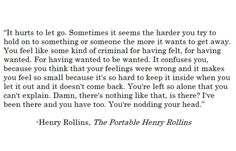 henry rollins quotes loneliness - Google Search