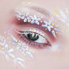 Flower Makeup, Fairy Makeup, Makeup Art, Makeup Inspo, Makeup Tips, Beauty
