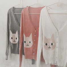 kicksandgiggles:    monasequeda:    teachingtoday:    ohmuffins:    I need this cardigan.    Once when I was in HS my nana gave me a very cute sweater with a cat on it and I loved it but was too embarrassed to wear it. Now, I would be comfortable with wearing cat sweaters…pretty much always. #noshame    Calling Stabi!!!    Seriously?! Gah <3