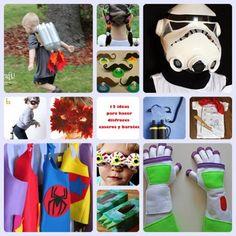 ideas para hacer disfraces caseros y baratos