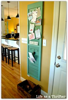 Shutter Organizer--love it!