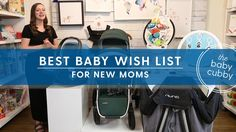 New Moms Baby Wish List WE ALWAYS PRICE MATCH FREE SHIPPING ON ORDERS OVER $49 at www.babycubby.com  Covered Goods Nursing Cover:  SHOP HERE: http://www.babycubby.com/covered-goods-multi-use-nursing-cover.html CHECK OUT OUR VIDEO HERE: https://youtu.be/Cj6OiH35kqA  UPPABaby Mesa Car Seat: SHOP HERE: http://www.babycubby.com/uppababy-mesa-carseat-2015.html CHECK OUT OUR VIDEO HERE: https://youtu.be/YxntahXSOSc  Ergo Baby Carrier: SHOP HERE…