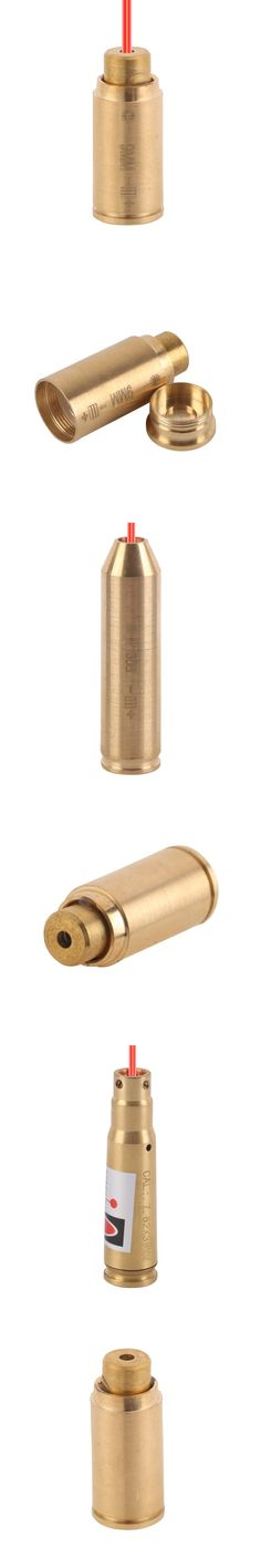 Outdoor Caliber Hunting Laser Boresight 7mm-08 / 308 /.223Rem/ 9mm Caliber Cartridge Sight Laser For Rifle caza 12GA / 243