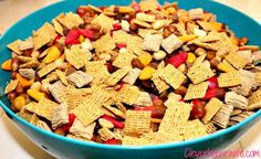 Autumn Trail Mix - Best Trail Mix Ever!