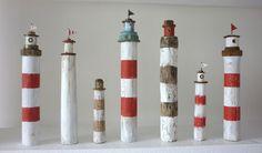 driftwood lighthouse...fun to make.