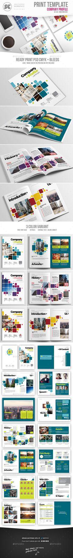 Company Profile 2017 Pinterest Company profile, Company profile