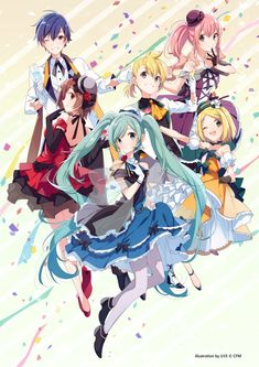 Team hatsune Miku , is back Vocaloid Kaito, Miku Chibi, Kagamine Rin And Len, Manga Anime, Anime Art, Read Anime, Vocaloid Characters, Anime Songs, Girls Anime