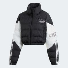 Clothes, Shoes & Gear for Sale Online. Winter Mode Outfits, Winter Fashion Outfits, Sporty Outfits, Swag Outfits, Fitness Outfits, Sport Style, Adidas Moda, Puffy Jacket, Sport Fashion