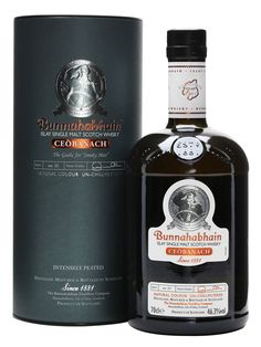 Buy Bunnahabhain Ceobanach Intensely Peated Single Malt Scotch online and have single malt scotch whisky shipped fast! Best price on Bunnahabhain Distillery single malt scotch at Ace Spirits. Scotch Whisky, Whiskey Or Whisky, Whisky Islay, Good Whiskey, Single Malt Whisky, Wine And Liquor, Liquor Bottles, Wine And Beer, Alcohol Mixers