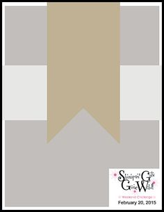 Stampin' Gals Gone Wild Weekend Challenge!  February 20, 2015  www.SimplySimpleStamping.com