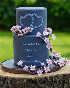 Mother of the Bride - Blog de Casamento e Dicas de Casamento para Noivas - Por Cristina Nudelman: Bolo de Casamento Preto - Black is Beautiful