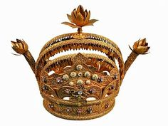 Crown of the Sultan of SiakThe National Museum of Indonesia