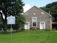 Old Rocks Church located in Rocktown in Hunterdon County, New Jersey