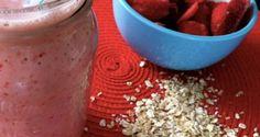 Batido swing de fresa | Recetas para adelgazar