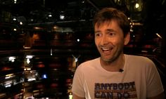 """VIDEO: David Tennant At Shakespeare Live: """"The Green Room's Hilarious"""""""