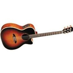 Alvarez Yairi Virtuoso Maple WY1TS Acoustic Electric Cutaway (Vintage Sunburst) * Want to know more, click on the image.