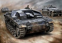 German Assault Tank: StuG III/B