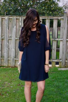 Trendy Tuesday: Cold-Shoulder Cocktail Dress - Trendy & Tidy
