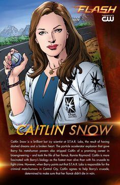 The Flash: Caitlin Snow Gets Carded | DC Comics