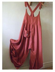 Femmes Cami à Bretelles Combishort Combinaison Sarouel Lagenlook Allinone Robe