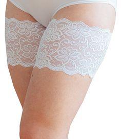 Bandelettes, elastische Oberschenkelbänder, die nicht Scheuern - Verhindern  Reibung am Oberschenkel (A: