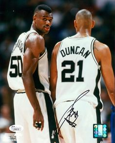 David Robinson & Tim Duncan