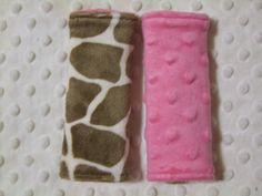 giraffe carseat strap covers