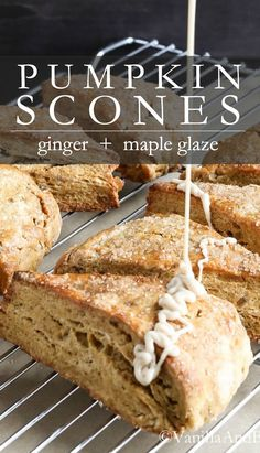 Top Recipes, Brunch Recipes, Breakfast Recipes, Dessert Recipes, Bean Recipes, Vegan Baking Recipes, Cooking Recipes, Recipe Using Pumpkin, Gluten Free Scones