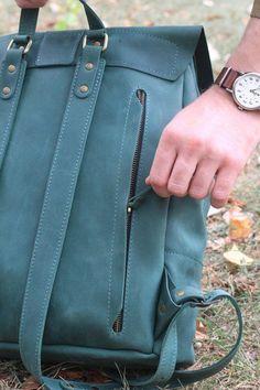 34cce2c76ac1 Large leather backpackLaptop backpack leatherLarge handmade Кожаные Сумки,  Кожаные Подарки, Кожаные Сумки Ручной Работы