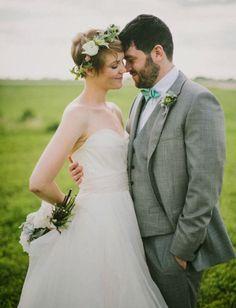 Spring Wedding, green
