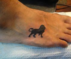 wrist tattoo lion outline tattoo lion tattoo design foot tattoo tattoo ...
