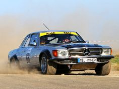 Behold The Amazing Forgotten Mercedes 500 SL Rally Car - Car Mercedes 450, Mercedes Benz Cars, Ford Capri, Rally Car, Car Car, Classic Mercedes, Cabriolet, Sport Cars, Car Pictures